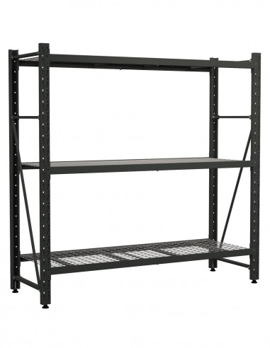 3 Tier Industrial Shelving Unit