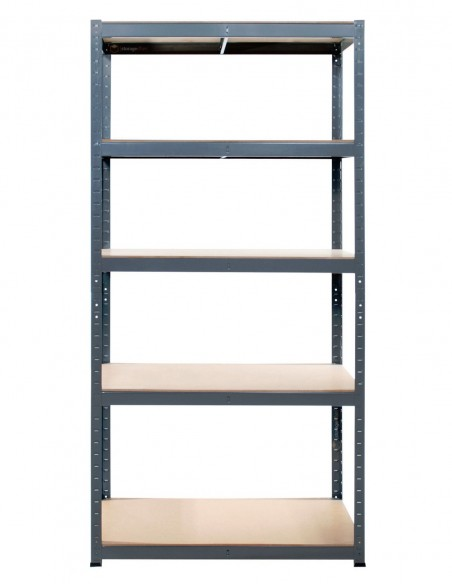 3 x 5 Tier Heavy-Duty Boltless Shelving Unit (MED)
